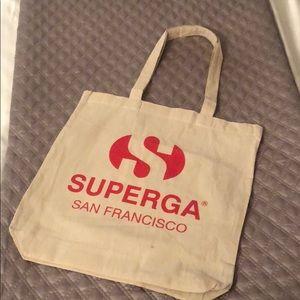 Superga San Francisco Cotton tote bag